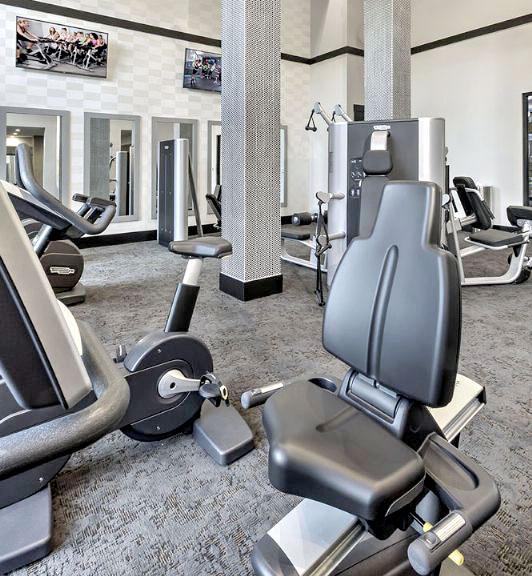 B & F Flats Fitness Center