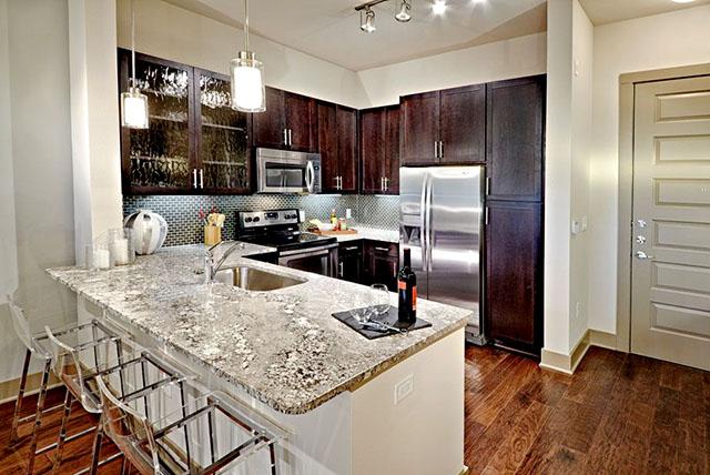 B & F Flats Model Kitchen