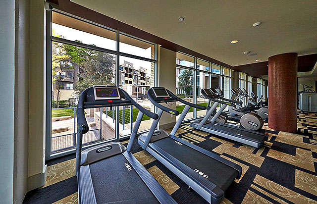 Brady Luxury Apartments Fitness Center