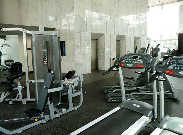 Lone Star Gas Lofts II Fitness Center